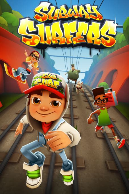Hit iOS game Subway Surfers makes its way to the Google ...