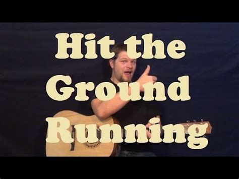 Hit the Ground Running  Keith Urban  Guitar Lesson Easy ...