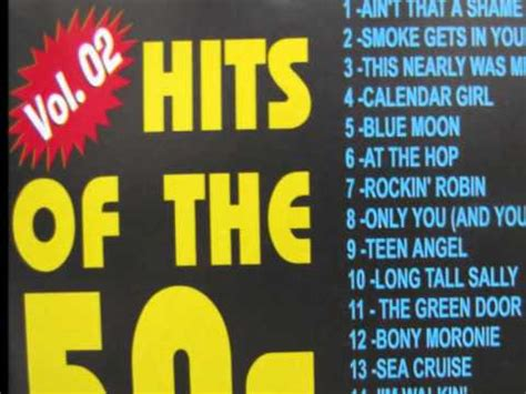 HITS OF THE 50s   FULL ALBUM   YouTube