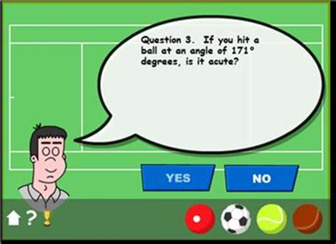 Hitting the Target   Angles Through Sports   Maths Zone ...