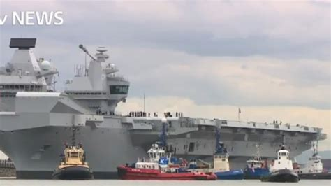 HMS Queen Elizabeth could arrive in Portsmouth as early as ...