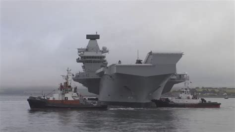 HMS Queen Elizabeth to dock in Portsmouth on Wednesday ...