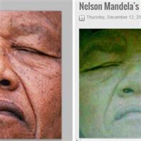 Hoax photo of Mandela after death brings anger | The Japan ...