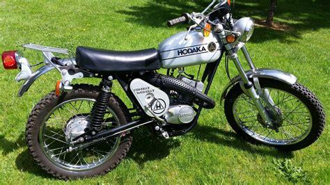 Hodaka 125cc Wombat Custom new parts nice vintage bike ...