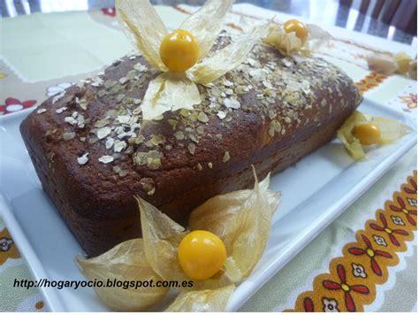 Hogar y Ocio: Bizcocho con harina de trigo integral, avena ...