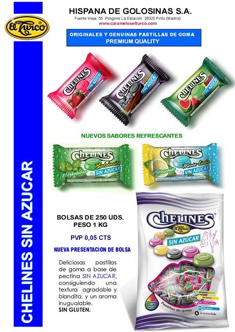 Hojas de Catalogo CHELINES SIN   Caramelos El Turco