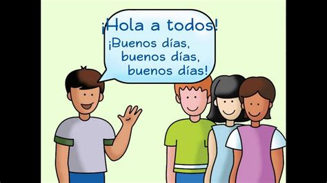 Hola a todos: A Spanish Greeting Song   YouTube