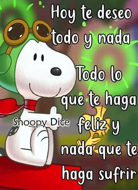 Hola Buenos Días Snoopy 424   BonitasImagenes.net