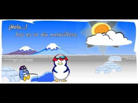 Hola Pingui   Postales Animadas de Buenos Dias   YouTube
