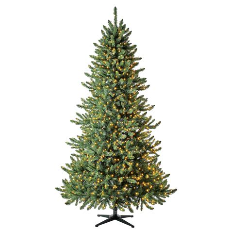 Holiday Time Pre Lit Milford Pine Quick Set Artificial ...