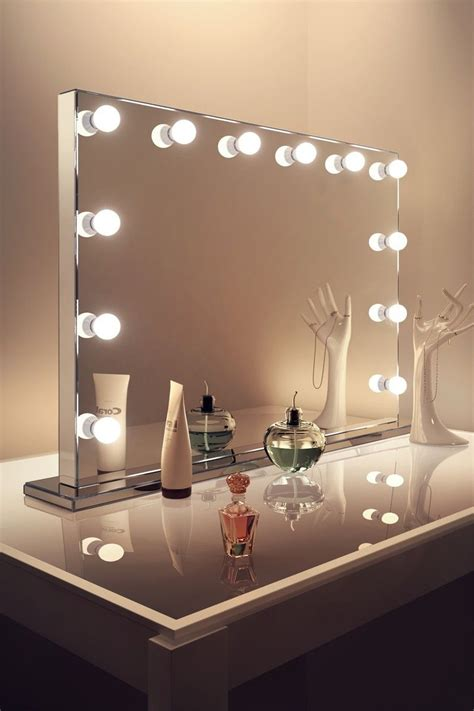 Hollywood Vanity Mirror with Lights, Makeup Vanity Mirror ...