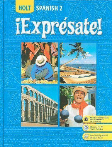 Holt spanish 2 expresate workbook answers wintoosa.com