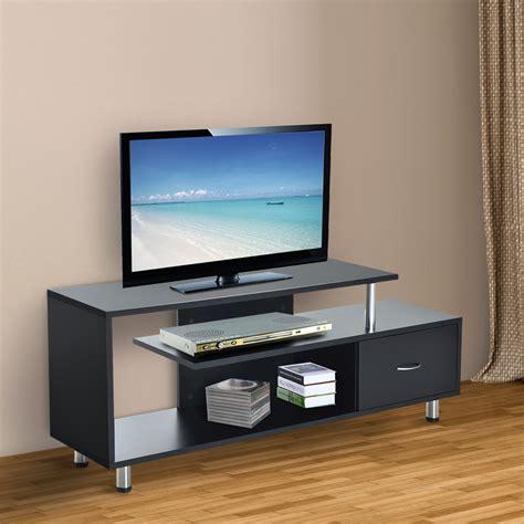 HOMCOM Mueble para Televisor Madera Negro 152x40x60,5cm ...