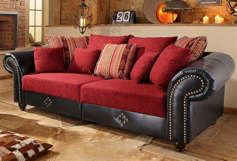 Home affaire Big Sofa »King George«, Inklusive ...