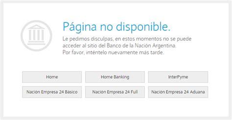 Home Banking Banco Nacion Red Link   prestamos online ...