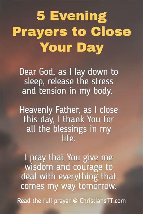 Home | Evening prayer, Everyday prayers, Inspirational prayers