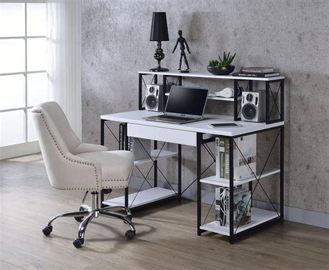 Home Office Computer Desk White AMIEL 92879 Acme Modern ...