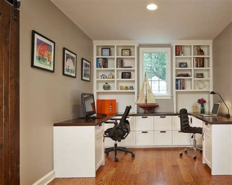 Home Office Designs For Two With Fine Home Office Design ...