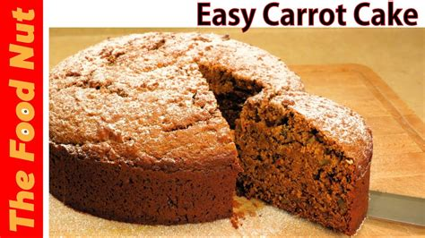 Homemade Carrot Cake Recipe From Scratch   Easy   No Icing ...