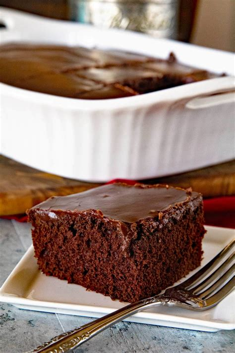 Homemade Chocolate Cake with Chocolate Frosting   Julie s ...