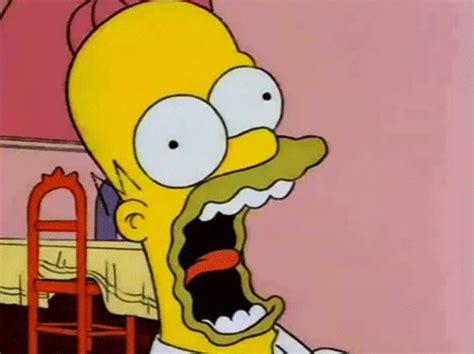 Homer Simpson Screaming | Gifrific