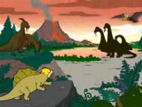 homero, su evolucion dedse la epoca de los dinosaurios ...