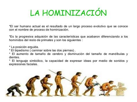 Hominización 6ºA