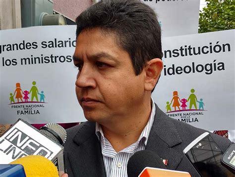Homosexualidad es enfermedad: Frente Nacional por la ...
