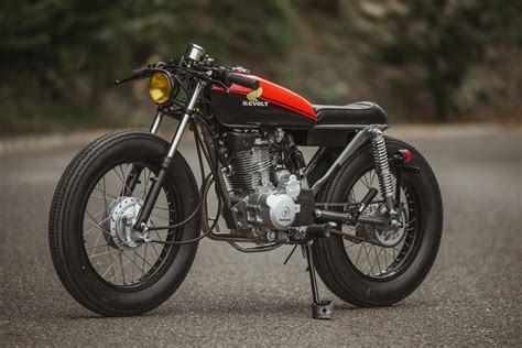 Honda 125 Brat Cafe by Revolt Cycles – BikeBound