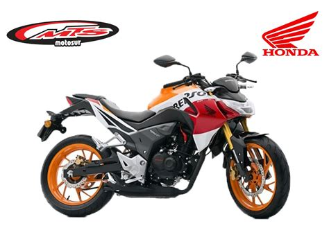 Honda Cb 190 R Repsol 2019 0 Km Nueva Moto Sur Negra ...