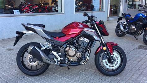 Honda CB500F 2018 nuevos colores   YouTube