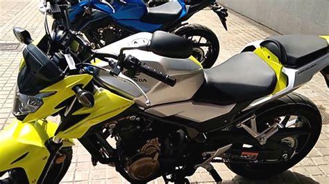 Honda CB500F gama colores 2018   YouTube
