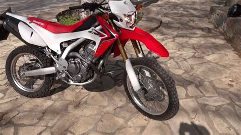 Honda CRF 250 L enduro on/off road Dual Sport 2013   YouTube