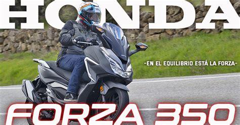 Honda Forza 350 2021 | Prueba a fondo | Ficha Técnica | Precio