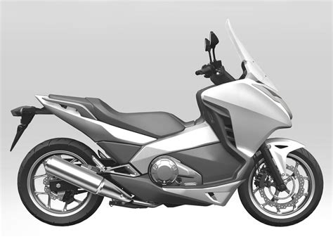 Honda Leaks Production New Mid Scooter Images   autoevolution