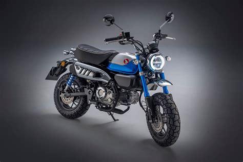 Honda Monkey 125 2022. Ahora con cambio de cinco marchas