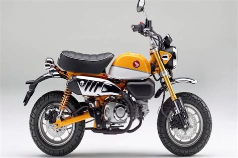 Honda Monkey 2022 unveiled internationally మంకీ బైక్ను ...