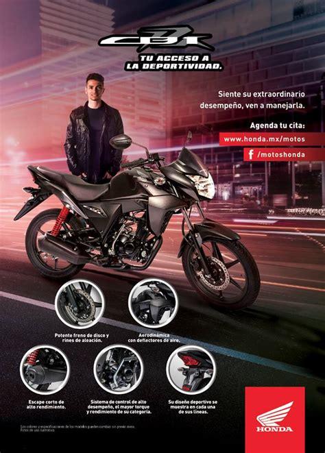 Honda Motos de México apuesta por la nueva motocicleta CB1 ...