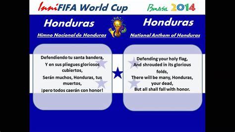 Honduras Anthem Translated   Himno Nacional de Honduras ...