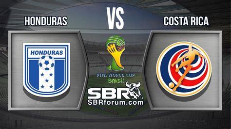Honduras vs Costa Rica | Eliminatoria Copa Mundial Brasil ...