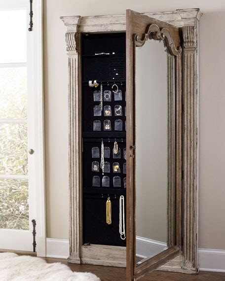 Hooker Furniture Meara Jewelry Storage Mirror
