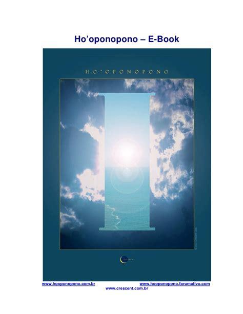Hooponopono e book