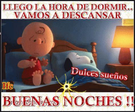 Hora De Descansar Y Dormir Buenas Noches Snoopy GIF ...