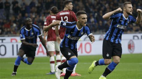 Hora y canales para ver el derbi Inter de Milán vs. AC ...