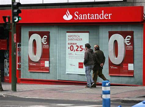 Horario Banco Santander   DeFinanzas.com