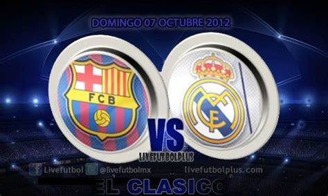 Horario: Barcelona   Real Madrid, Clásico Liga BBVA 2012 ...