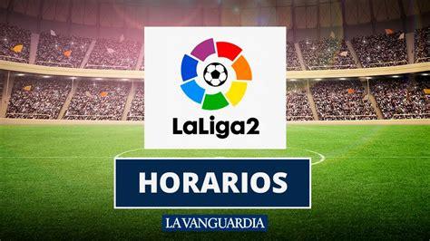 Horario de los partidos de la Liga 123 para este fin de semana