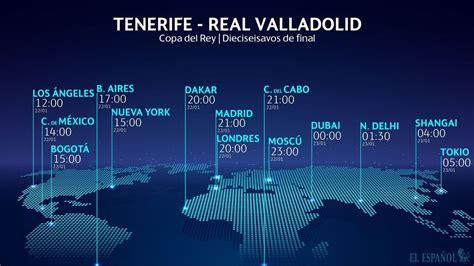 Horario internacional y dónde ver el Tenerife   Valladolid ...