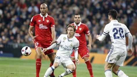 Horario y dónde ver el Sevilla   Real Madrid en directo ...