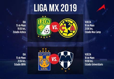Horarios de las semifinales de la Liga MX quedan definidos